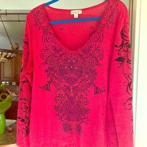 One World Long Sleeved Top